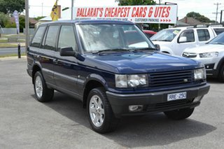 2002 Land Rover Range Rover HSE Blue 4 Speed Automatic Wagon.