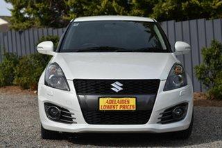 2016 Suzuki Swift FZ MY15 Sport White 7 Speed Constant Variable Hatchback.