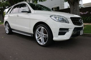 2013 Mercedes-Benz M-Class W166 ML350 BlueTEC 7G-Tronic + White 7 Speed Sports Automatic Wagon