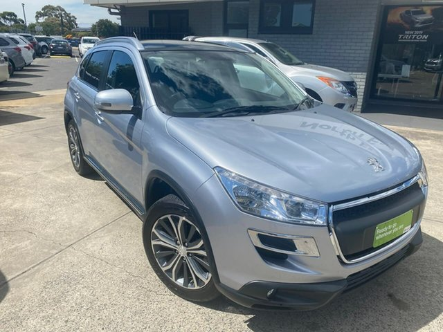 Used Peugeot 4008 MY15 Active 2WD Hillcrest, 2015 Peugeot 4008 MY15 Active 2WD Silver 6 Speed Constant Variable Wagon