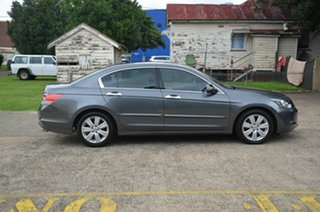 2008 Honda Accord 50 V6 Luxury Grey 5 Speed Automatic Sedan.