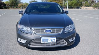 2009 Ford Falcon FG G6E Grey 6 Speed Sports Automatic Sedan.
