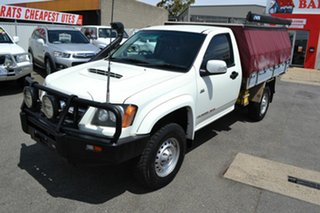 2010 Holden Colorado RC MY10 LX (4x4) White 5 Speed Manual Cab Chassis.