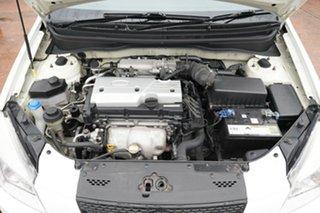 2008 Kia Rio JB LX White 5 Speed Manual Hatchback