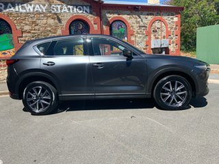 2018 Mazda CX-5 KF4WLA Akera SKYACTIV-Drive i-ACTIV AWD Grey 6 Speed Sports Automatic Wagon.