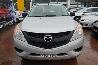 2015 Mazda BT-50 MY13 XT Hi-Rider (4x2) Silver 6 Speed Automatic Freestyle Cab Chassis