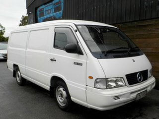 2002 Mercedes-Benz MB140 White 5 Speed Manual Van.