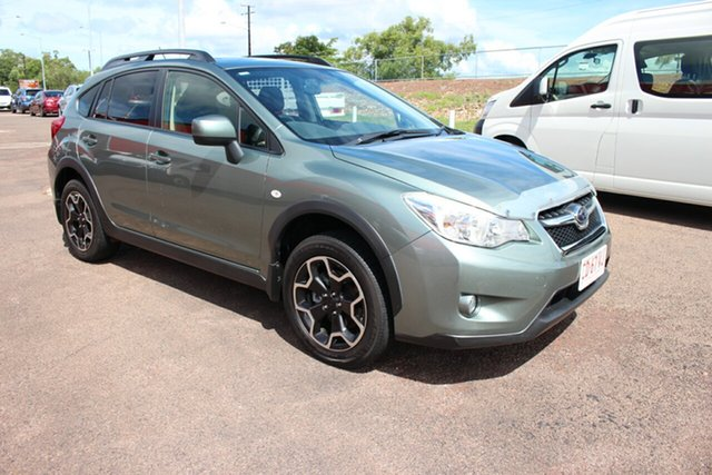 Pre-Owned Subaru XV G4X MY13 2.0i-S Lineartronic AWD Darwin, 2013 Subaru XV G4X MY13 2.0i-S Lineartronic AWD Green 6 Speed Constant Variable Wagon