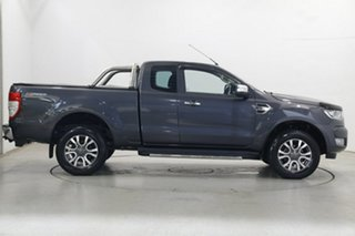 2017 Ford Ranger PX MkII XLT Super Cab 4x2 Hi-Rider Grey 6 Speed Sports Automatic Utility