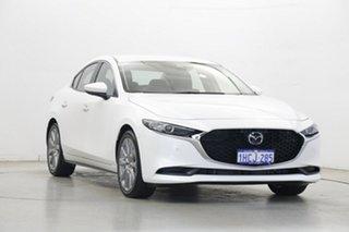 2019 Mazda 3 BP2S7A G20 SKYACTIV-Drive Evolve White 6 Speed Sports Automatic Sedan
