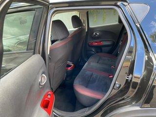 2014 Nissan Juke F15 MY14 ST 2WD Black 1 Speed Constant Variable Hatchback