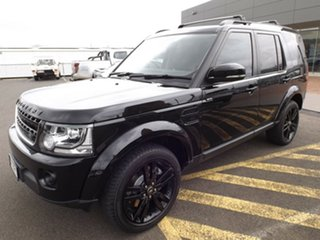 2015 Land Rover Discovery Series 4 L319 MY15 SDV6 SE Santorini Black 8 Speed Sports Automatic Wagon