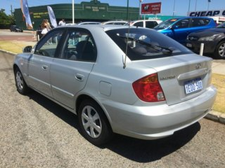 2005 Hyundai Accent LS 1.6 Silver 4 Speed Automatic Hatchback