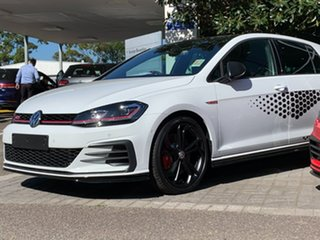 2020 Volkswagen Golf 7.5 MY20 GTI TCR DSG Black 6 Speed Sports Automatic Dual Clutch Hatchback.