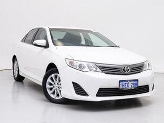 2013 Toyota Camry ASV50R Altise White 6 Speed Automatic Sedan.