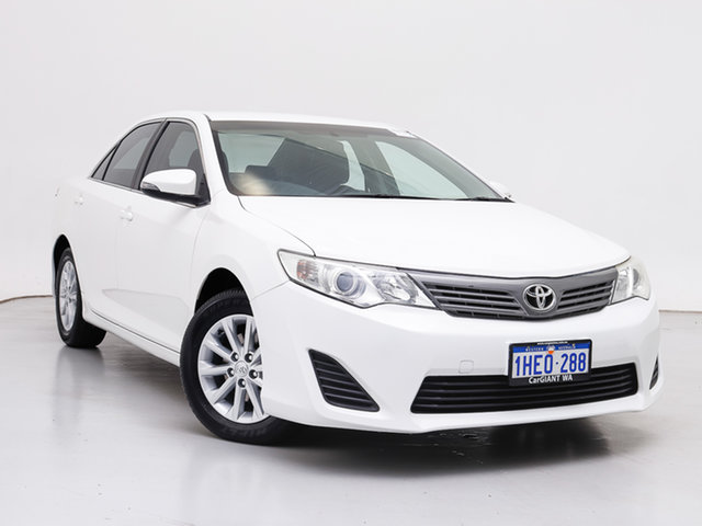 Used Toyota Camry ASV50R Altise, 2013 Toyota Camry ASV50R Altise White 6 Speed Automatic Sedan