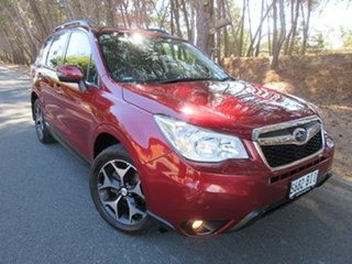 2015 Subaru Forester S4 MY15 2.0D-S CVT AWD Red 7 Speed Constant Variable Wagon.