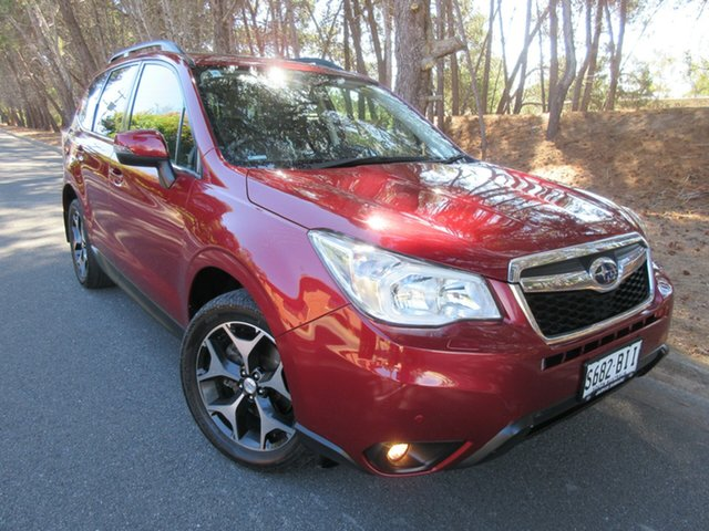Used Subaru Forester S4 MY15 2.0D-S CVT AWD Reynella, 2015 Subaru Forester S4 MY15 2.0D-S CVT AWD Red 7 Speed Constant Variable Wagon
