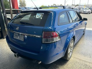 2009 Holden Commodore VE MY10 SV6 Blue 6 Speed Automatic Sportswagon