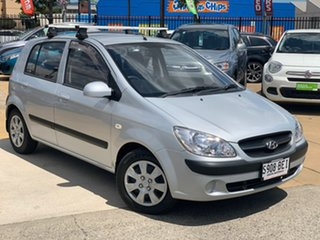 2010 Hyundai Getz TB MY09 S Silver 4 Speed Automatic Hatchback.