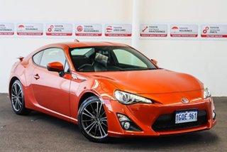 2014 Toyota 86 ZN6 MY14 Upgrade GTS Velocity Orange 6 Speed Auto Sequential Coupe.
