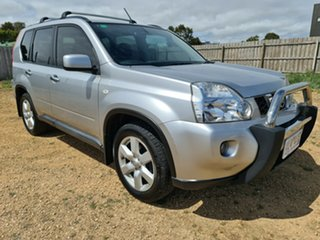 2009 Nissan X-Trail T31 MY10 ST-L Silver 1 Speed Constant Variable Wagon.