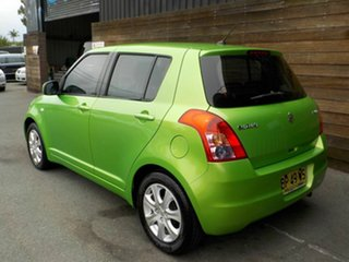 2011 Suzuki Swift FZ GA Green 5 Speed Manual Hatchback