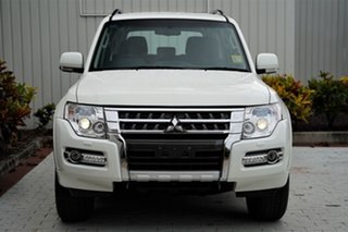 2020 Mitsubishi Pajero NX MY21 GLX White 5 Speed Sports Automatic Wagon.