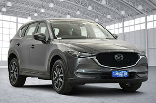 2017 Mazda CX-5 KF4WLA Akera SKYACTIV-Drive i-ACTIV AWD Grey 6 Speed Sports Automatic Wagon.