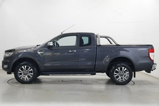 2017 Ford Ranger PX MkII XLT Super Cab 4x2 Hi-Rider Grey 6 Speed Sports Automatic Utility.