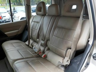 2005 Mitsubishi Pajero NP MY06 Exceed Beige 5 Speed Sports Automatic Wagon