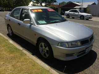 2002 Mitsubishi Lancer CE GLi Silver 4 Speed Automatic Sedan.