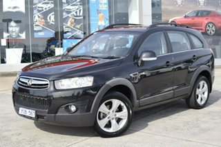 2011 Holden Captiva CG Series II 7 AWD CX Black/Grey 6 Speed Sports Automatic Wagon.