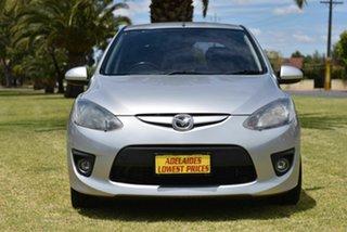 2008 Mazda 2 DE10Y1 Genki Silver 5 Speed Manual Hatchback.