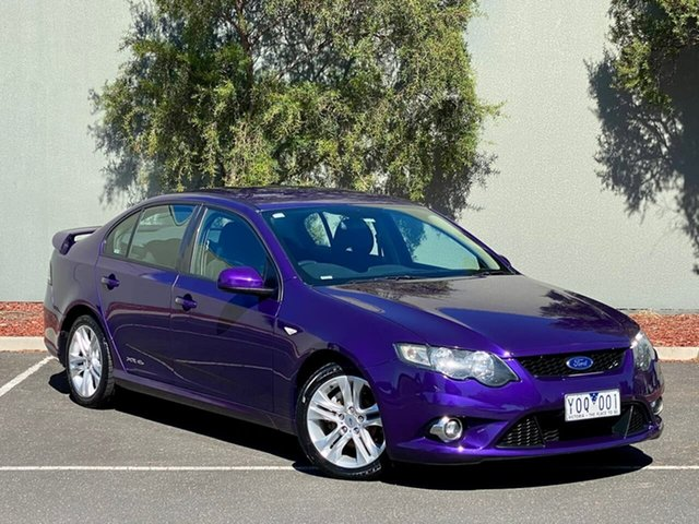 Used Ford Falcon FG XR6 Templestowe, 2010 Ford Falcon FG XR6 Purple 5 Speed Sports Automatic Sedan