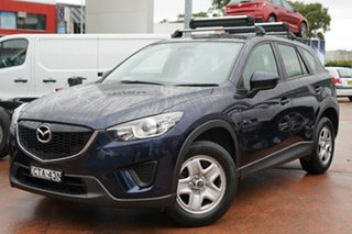 2014 Mazda CX-5 MY13 Upgrade Maxx (4x4) Blue 6 Speed Automatic Wagon