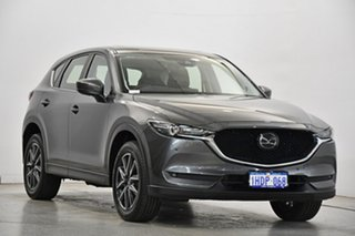 2017 Mazda CX-5 KF4WLA Akera SKYACTIV-Drive i-ACTIV AWD Grey 6 Speed Sports Automatic Wagon