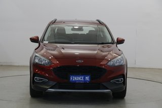2019 Ford Focus SA 2020.25MY Active Ruby Red 8 Speed Automatic Hatchback.