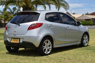 2008 Mazda 2 DE10Y1 Genki Silver 5 Speed Manual Hatchback