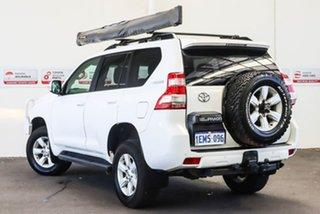 2014 Toyota Landcruiser Prado KDJ150R MY14 GXL (4x4) Glacier White 5 Speed Sequential Auto Wagon.