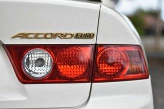 2003 Honda Accord Euro CL Luxury Pearl White 5 Speed Automatic Sedan