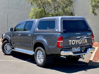 2013 Toyota Hilux KUN26R MY12 SR5 Double Cab Grey 5 Speed Manual Utility