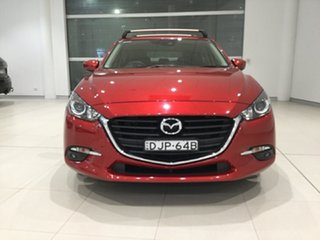 2016 Mazda 3 BN5438 SP25 SKYACTIV-Drive Soul Red 6 Speed Sports Automatic Hatchback