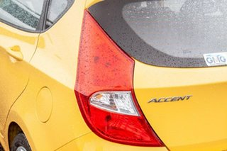 2019 Hyundai Accent RB6 MY19 Sport Yellow 6 Speed Sports Automatic Hatchback