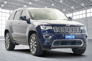 2018 Jeep Grand Cherokee WK MY18 Overland Blue 8 Speed Sports Automatic Wagon.