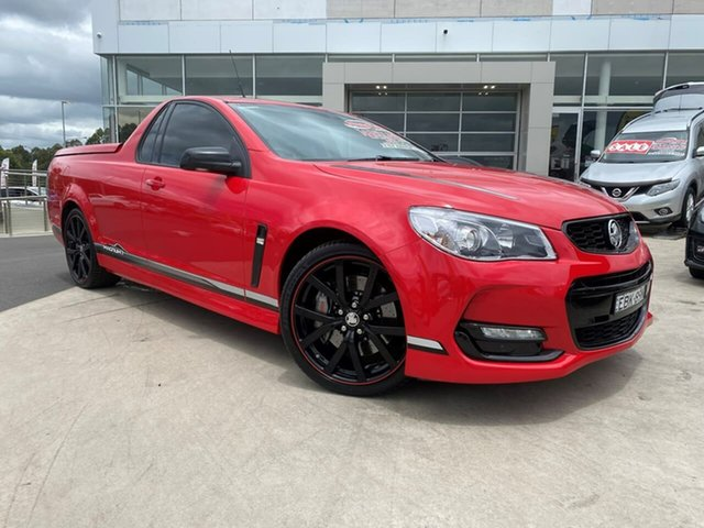 Used Holden Ute VF II MY17 Magnum Ute Liverpool, 2017 Holden Ute VF II MY17 Magnum Ute Red Hot 6 Speed Manual Utility