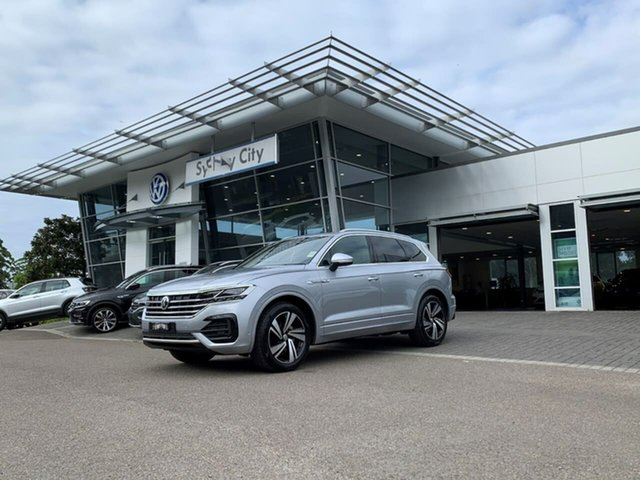 Demo Volkswagen Touareg CR MY20 190TDI Tiptronic 4MOTION Premium Botany, 2020 Volkswagen Touareg CR MY20 190TDI Tiptronic 4MOTION Premium Silver 8 Speed Sports Automatic