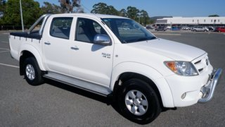 2007 Toyota Hilux GGN25R MY07 SR5 White 5 Speed Automatic Utility