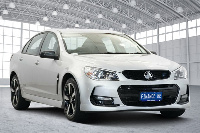 Used Holden Commodore VF II MY16 SV6 Black Victoria Park, 2016 Holden Commodore VF II MY16 SV6 Black Silver 6 Speed Sports Automatic Sedan