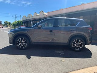 2018 Mazda CX-5 KF4WLA Akera SKYACTIV-Drive i-ACTIV AWD Grey 6 Speed Sports Automatic Wagon